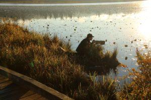 Burnaby Lake Bird watchers