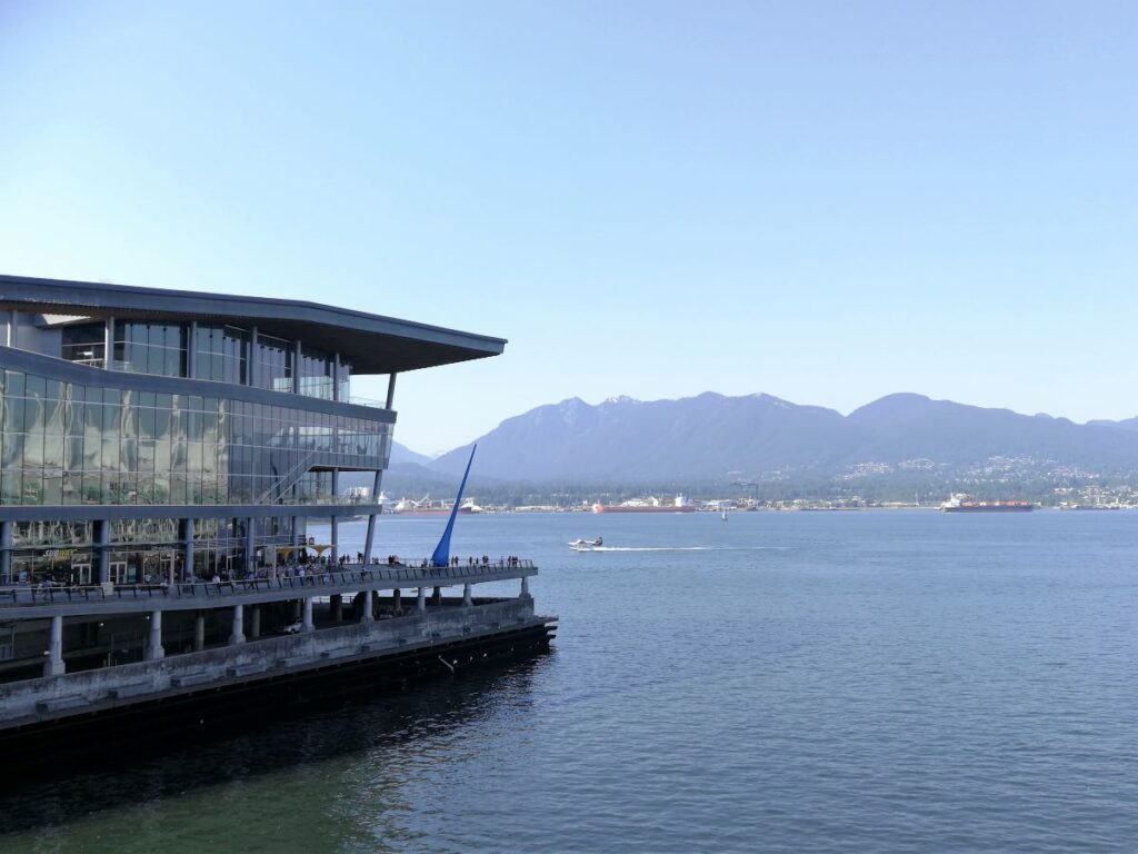 Vancouver Convention Centre with Northshore view