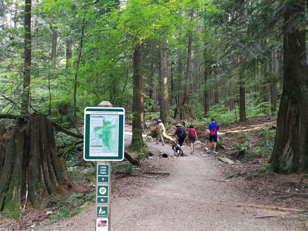 Lynn Loop trail map