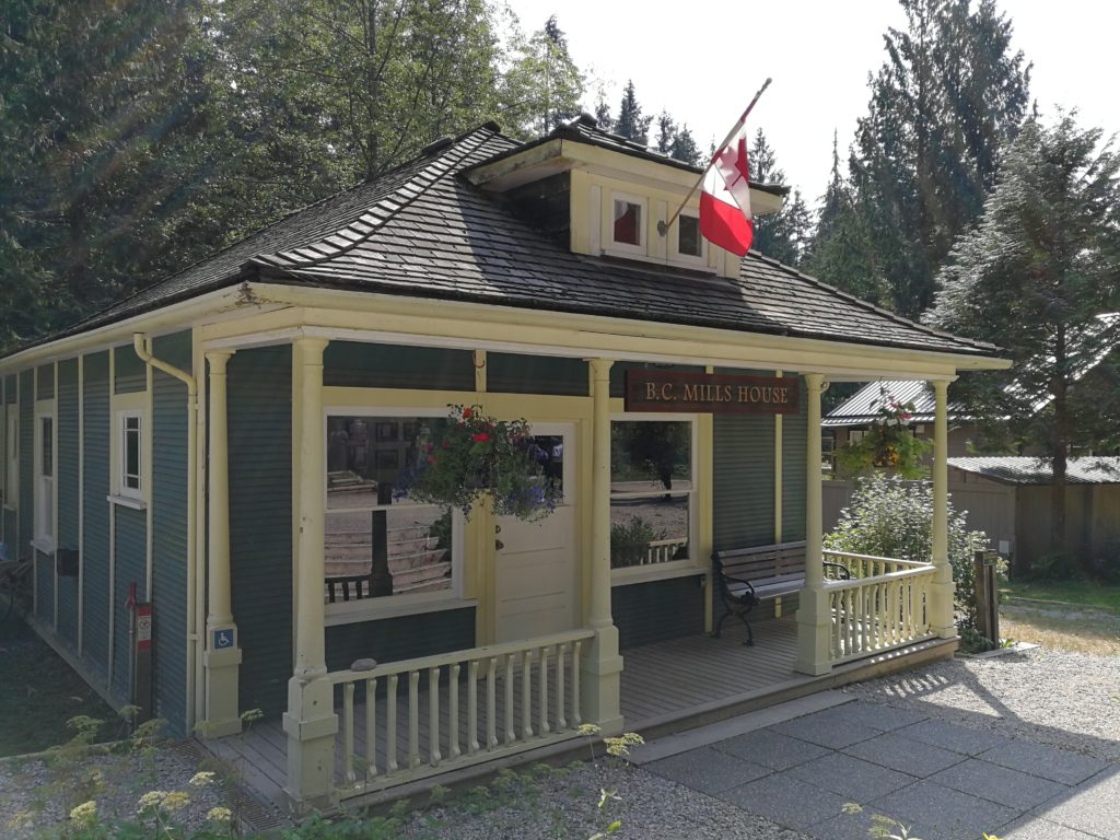 BC Mill House at Lynn Headwaters Park entrance
