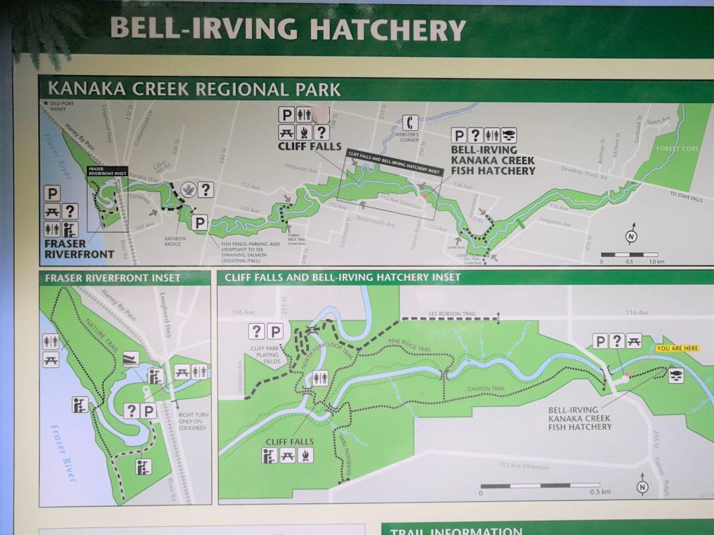 Kanaka Creek Regional Park map