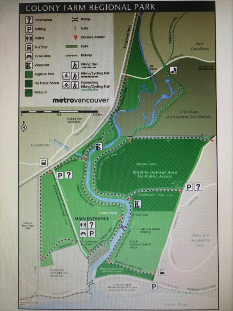 Colony Farm map