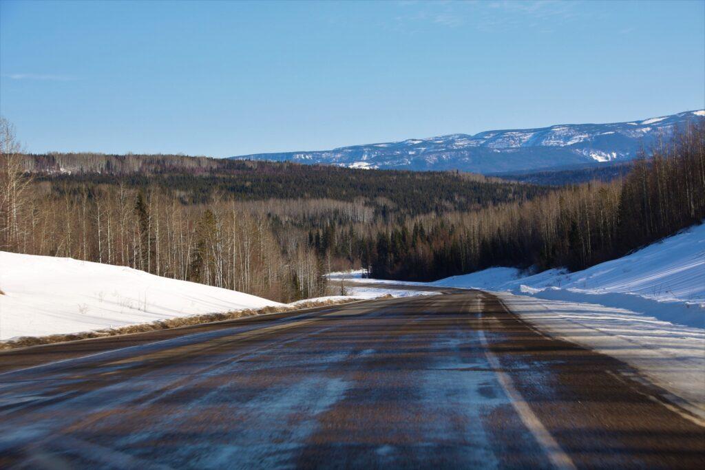 Alaska Highway scenery