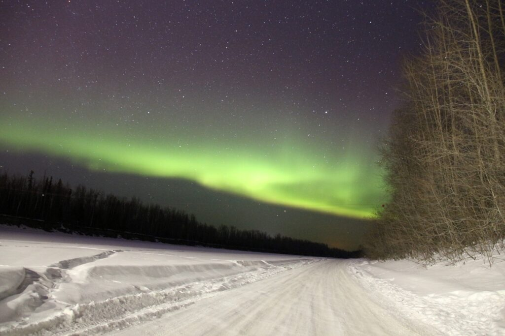 Northern Lights with ISO 3200 25s