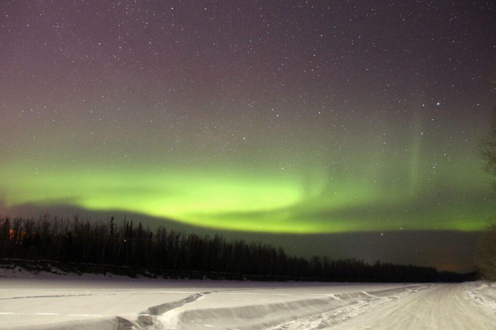 Northern Lights shot at ISO 3200 30s