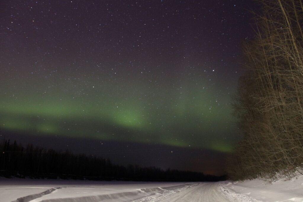 Northern Lights shot at ISO 1600 30s