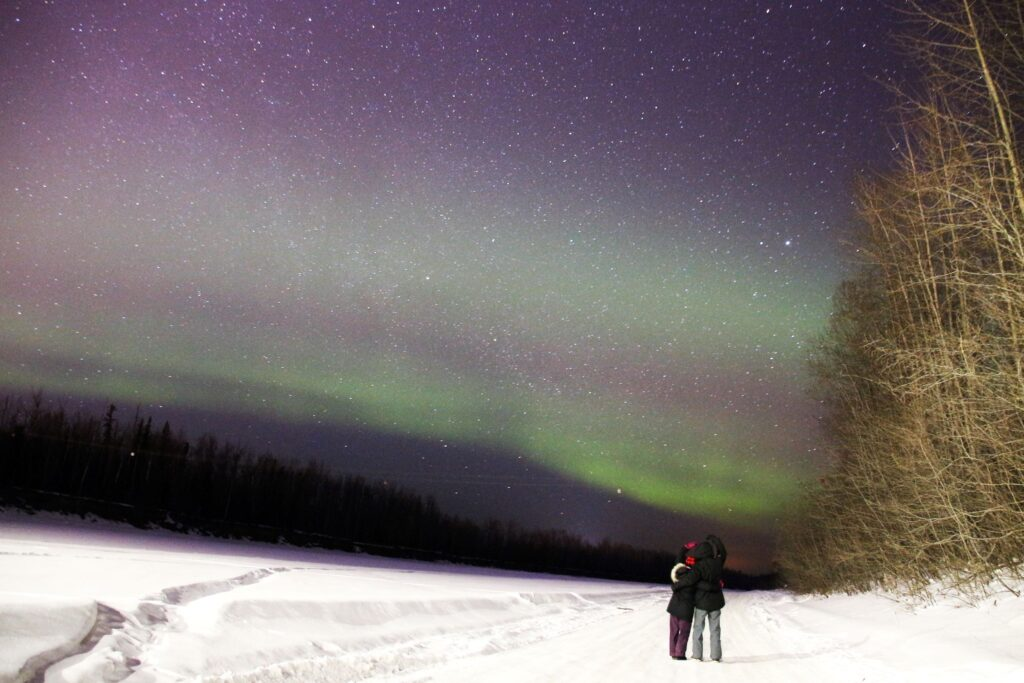 Northern Lights and a couple