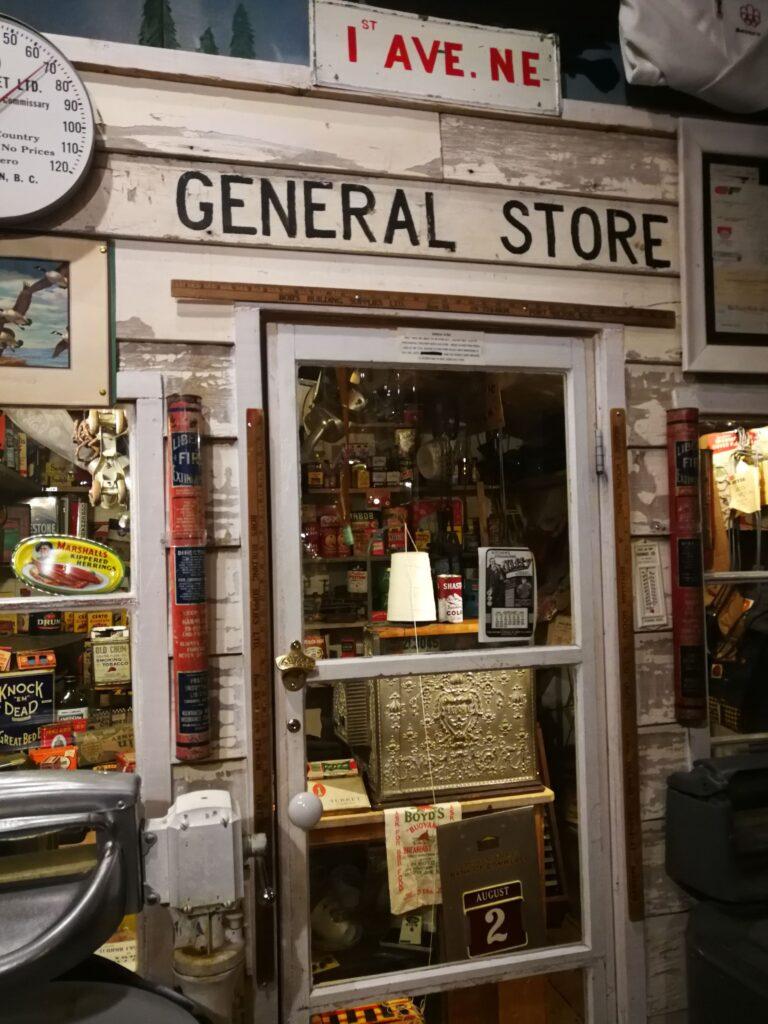 Replica of a general store