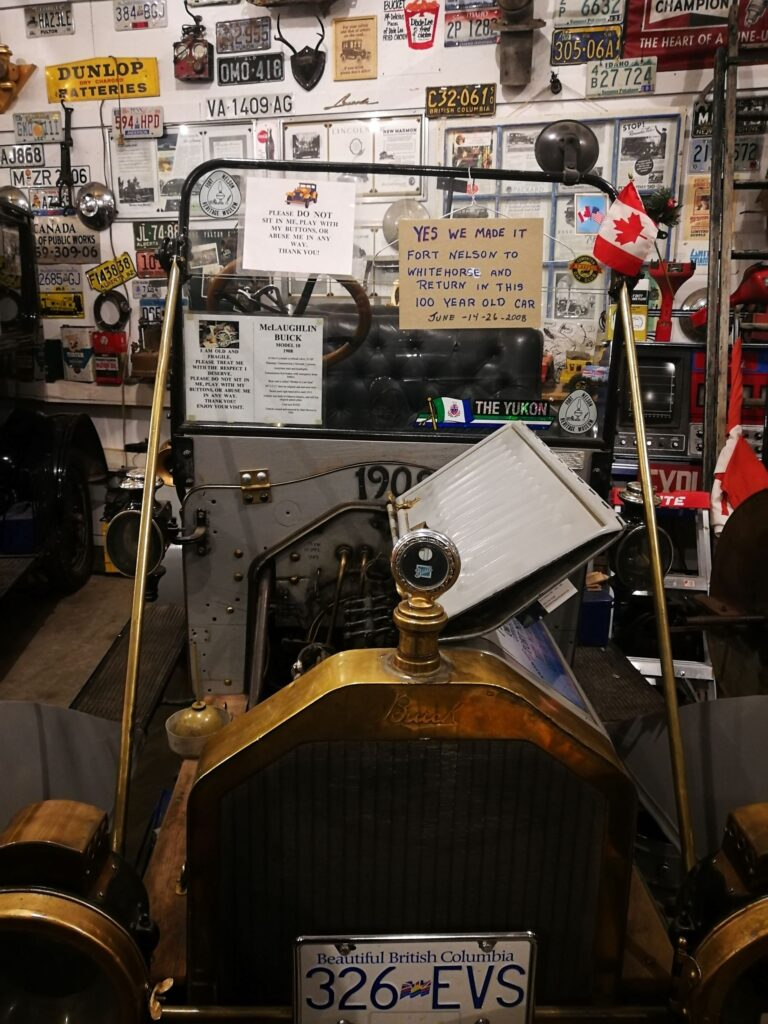 Antique McLaughlin Buick Model 10 1908 made it to Whitehorse and returned in 2008