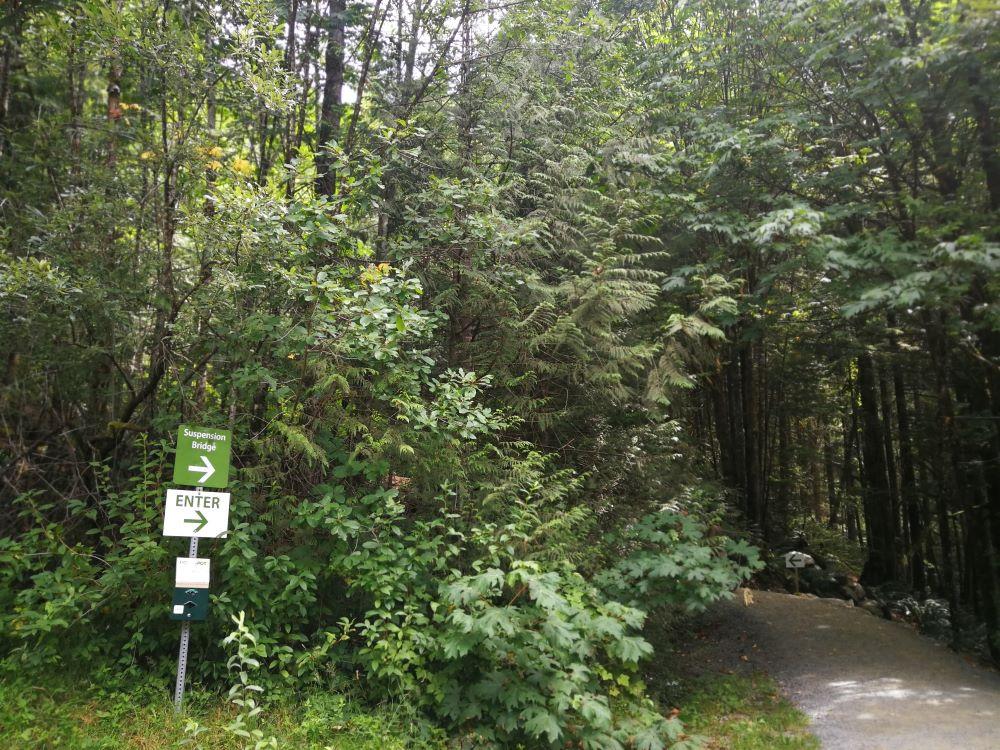 Cascade Falls trailhead