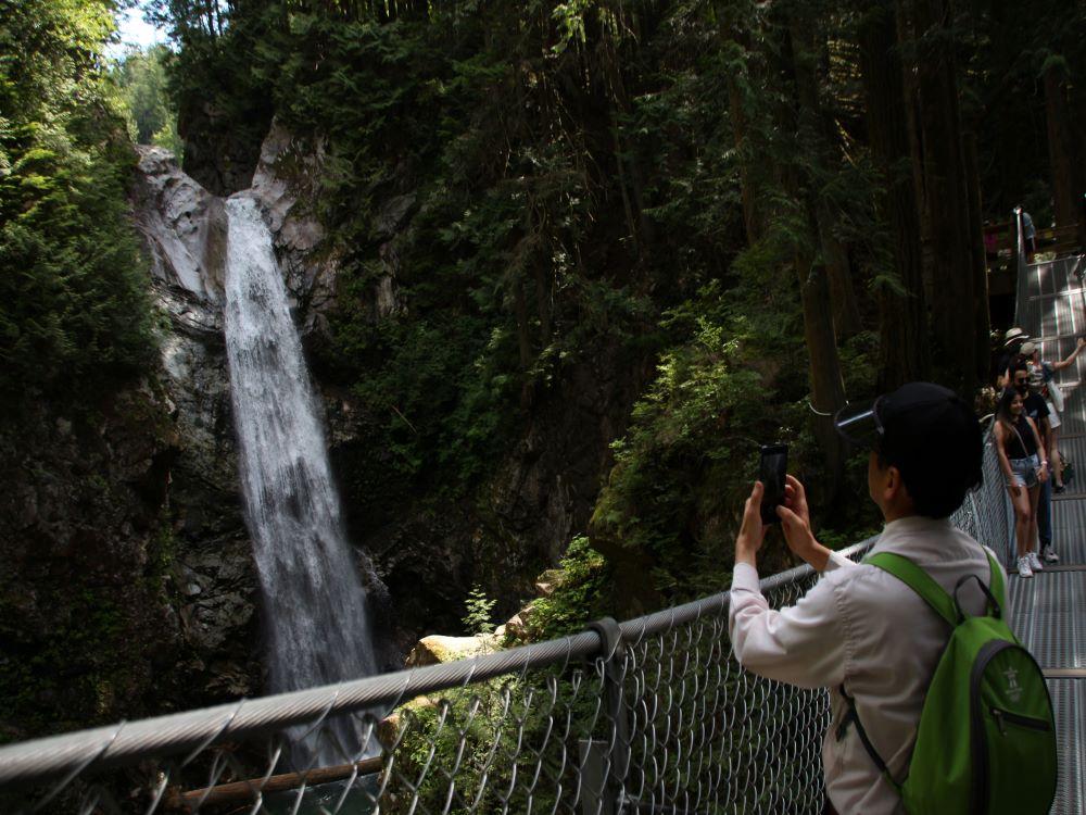 Suspension Bridge & Cascade Falls