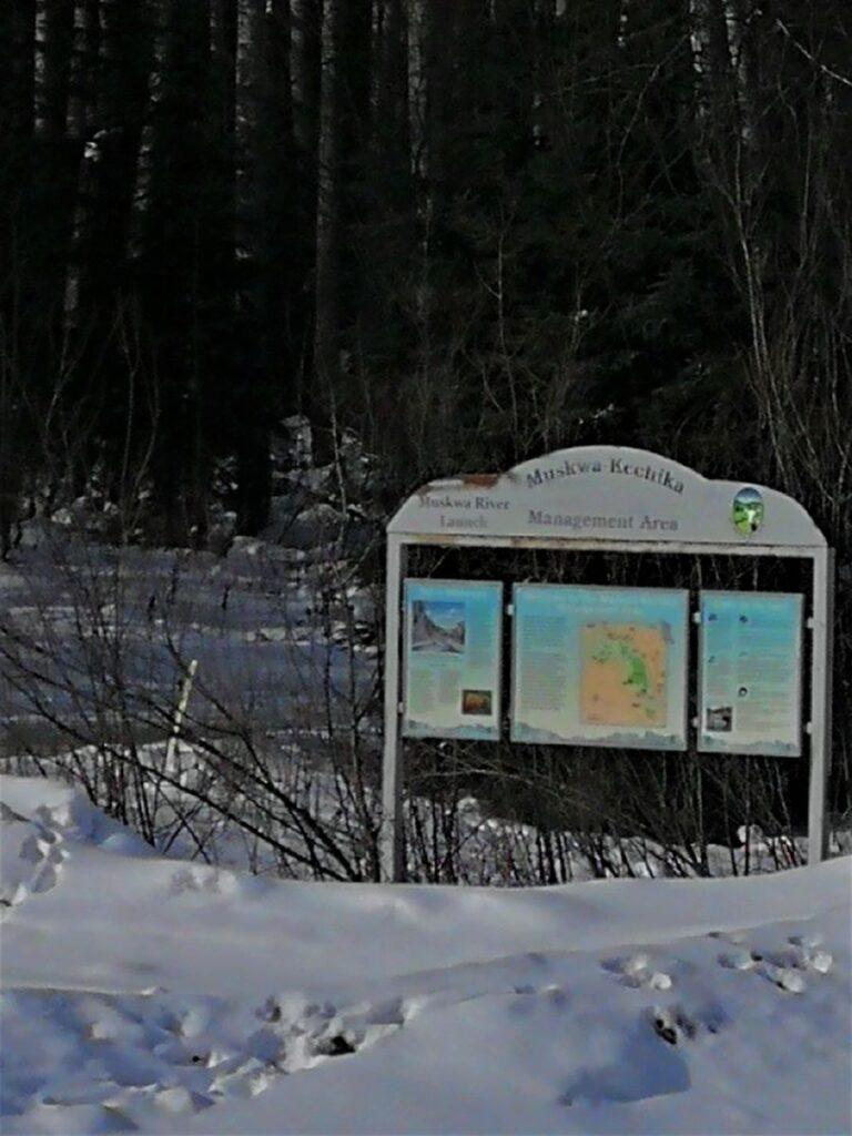Signage of Muskwa-Kechika Wildlife Management Area