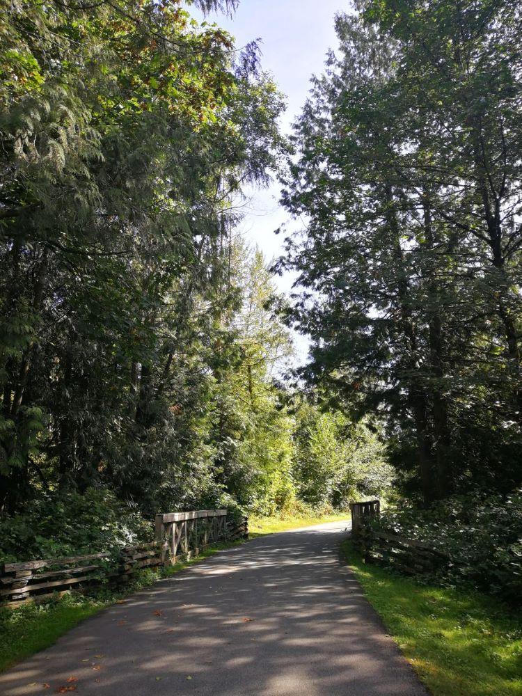 Small bridge on Perimeter Trail