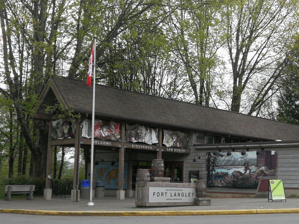 Entrance of Fort Langley National Historic Site