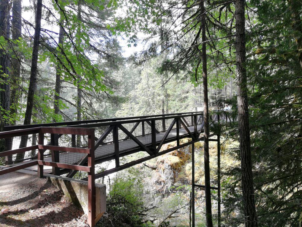 Bridge over Englishman River