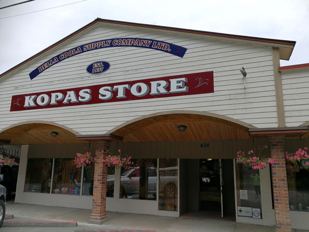 The store front of Kopas Store