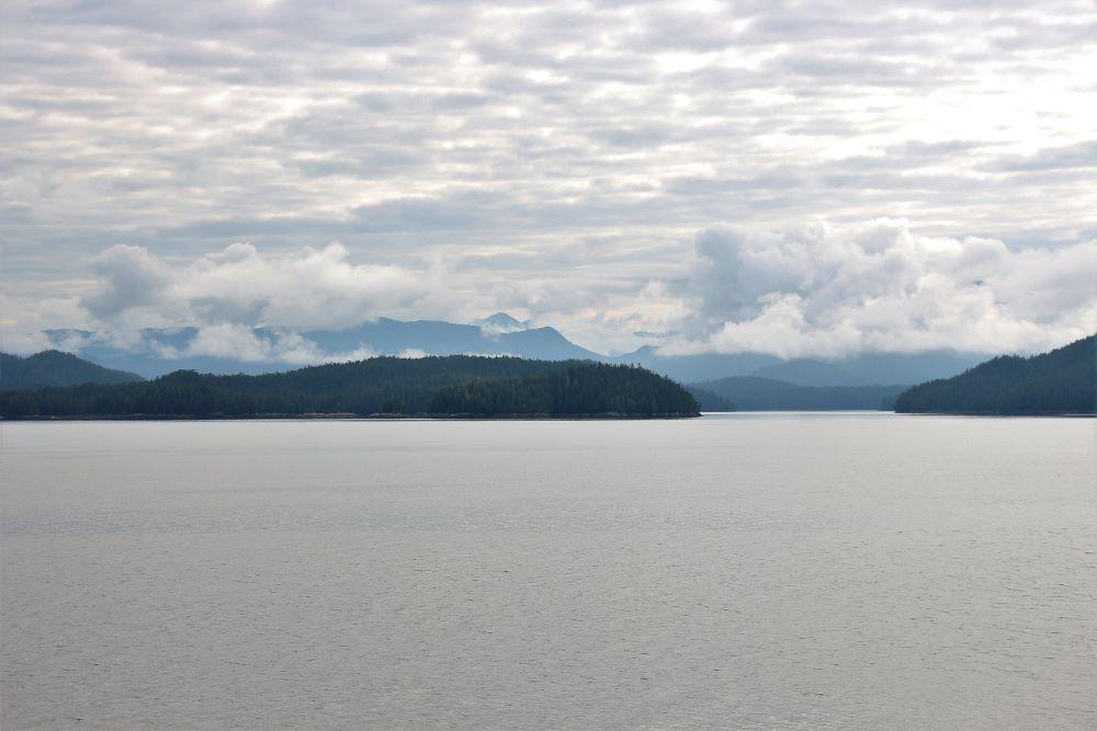Fitz Hugh Sound islands in the background